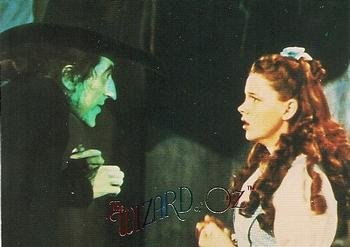 The Wicked Witch & Dorothy, How to get the Slippers? trading card (The Wizard of Oz) 1996 DuoCards #57