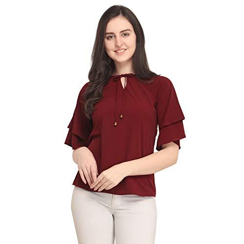 J B Fashion Women's Plain Regular Fit Top