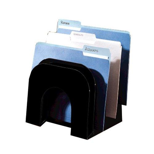 Vanes Filing Sorter - Rolodex Optimizer Super Sorter, Black (96601)