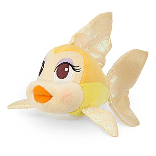 Official Disney Pinocchio 8 Inch Cleo The Fish Soft Plush Toy