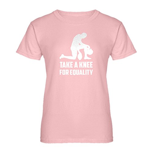 Small Take Womens Players Equality Shirt Pink Light For T Knee The QBhdotrxsC