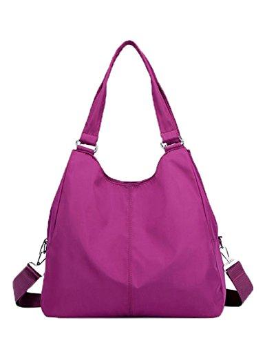 Purple Hobo Handbag - 9