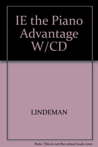 IE the Piano Advantage W/CD - The Piano Lindeman Advantage