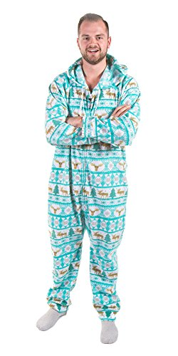 Forever Lazy Adult Onesie -Moose - S]()