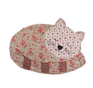SASSE & BELLE AGNES SLEEPING CAT CUSHION & FILLER - by Sass & Belle