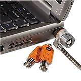 Kensington MicroSaver Cable Lock - Patented T-bar Lock - Steel - 6ft by Kensington®