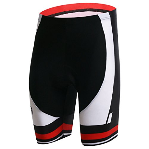 Summer Fashion Spoz Men Short Sleeve Cycling Padded Shorts XXXL