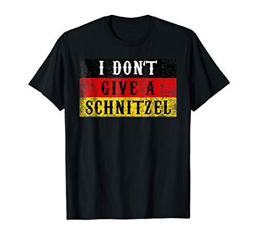 Funny Schnitzel Oktoberfest Shirt German Flag Gift