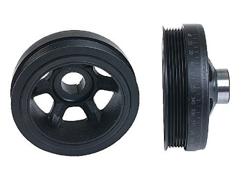 CORTECO Crankshaft Pulley - With Vibration Damper
