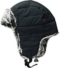 Stay warm this winter with this trapper hat from Levi's
