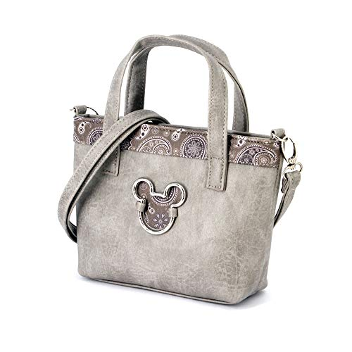Karactermania Mickey Mouse Paisgrey-Tote Handbag (Small) Messenger Bag