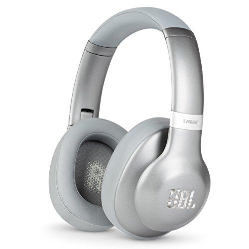 Headphones Headphones Silver (JBL Everest 710 Silver Over-Ear Wireless Bluetooth Headphones (Silver))