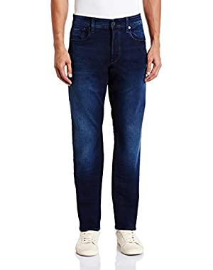 Men's 3301 Tapered-Fit Jean Slander Indigo Superstret