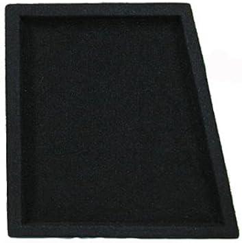 OnlyFactoryDirect New Single Car Black Subwoofer Box Sealed Automotive Enclosure for 10 Woofer 10S