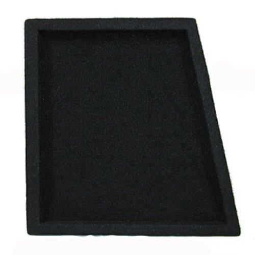 New Single Car Black Subwoofer Box Sealed Automotive Enclosure for 10'' Woofer 10S by OnlyFactoryDirect (Image #3)'