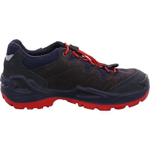 amp; Lo Wanderstiefel Lowa GTX Unisex rot Diego Kinder Trekking Navy 6941 Blau qIwYOaw