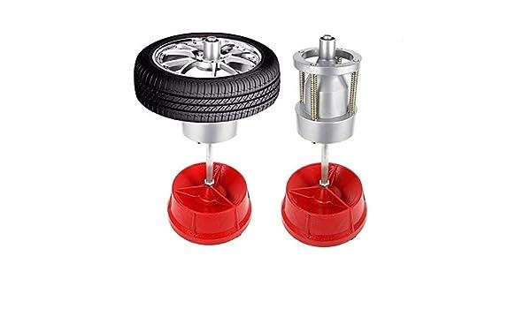 IRONWALLS Bubble Wheel Balancer Portable Hubs Wheel Tire Balancer Heavy Duty Rim for Cars Truck