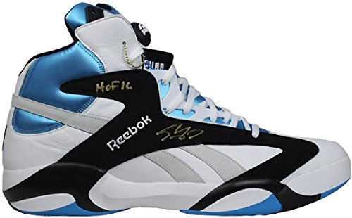 6b36677cb0073 Shaquille O'Neal Signed Size 22 Shaq Attaq Sneaker auto ins HOF 16 COA -  Steiner Sports Certified - Autographed NBA Sneakers