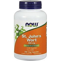 NOW St. John's Wort,250 Veg Capsules
