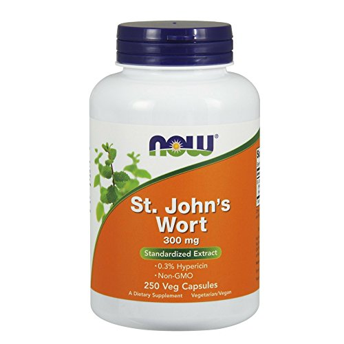 NOW St Johns Wort Capsules product image