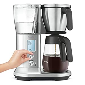 Breville BDC400BSS Precision Brewer Glass, 12 Cup, Stainless Steel