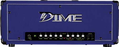Dime Amplification Dime D100 HEAD Purple 120-Watt Guitar