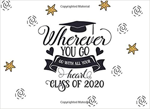 Happy Graduation 2020.Wherever You Go Go With All Your Heart Class Of 2020