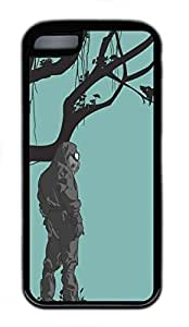 linJUN FENGipod touch 5 case, Cute Trust Nature ipod touch 5 Cover, ipod touch 5 Cases, Soft Black ipod touch 5 Covers