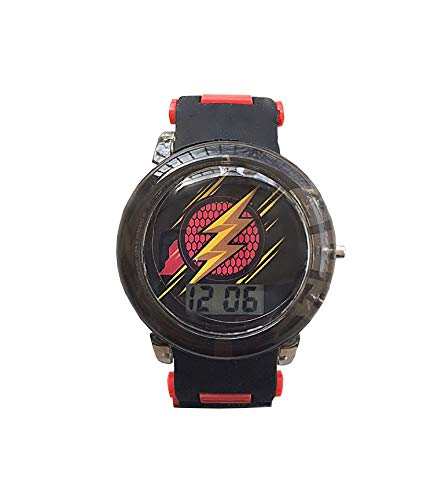 The Flash Justice League Flashing Kids Watch with Flashing -