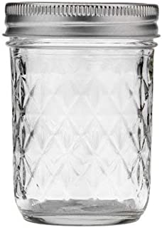product image for Mason Ball Jelly Jars-8 oz. each - Quilted Crystal Style-Set of 12