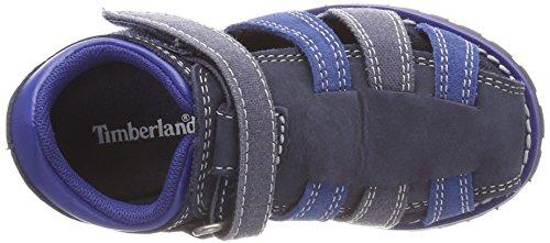 Timberland Unisex Baby Pokey Pine Fisherman Sandalen Blau (Sapphire 484)