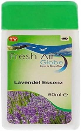 Aceite esencial Lavanda 60 ml Fresh Air Globe, compatible todo ...