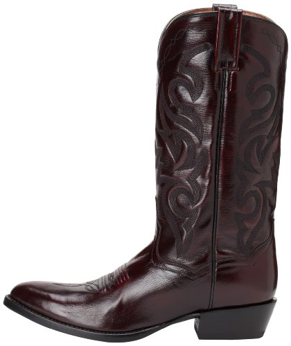 Dan Post Men's Milwaukee 13 inch R Toe Western Boot,Black Cherry,10 D US