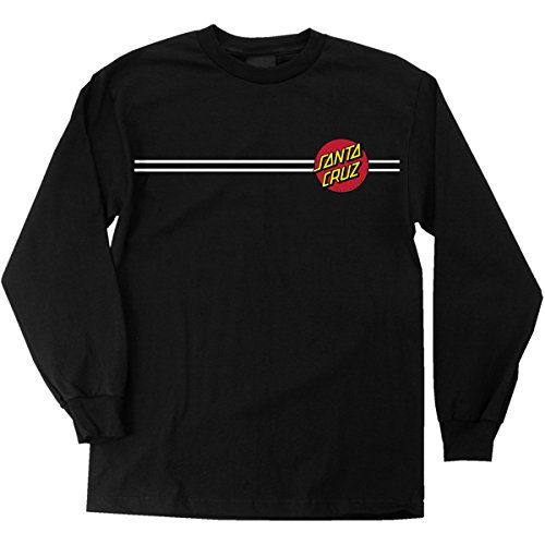NHS Santa Cruz Classic Dot Men's Long Sleeve T-Shirts