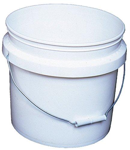 - Encore 30448 Industrial Bucket, 3.5-Gallon, White