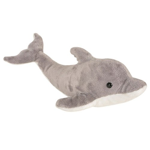 [Grey Dolphin Plush Toy] (Snuggles Dog Costume)