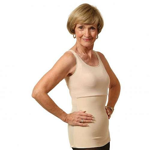 Wear ease slimmer compression camisole style 910-nude-medium