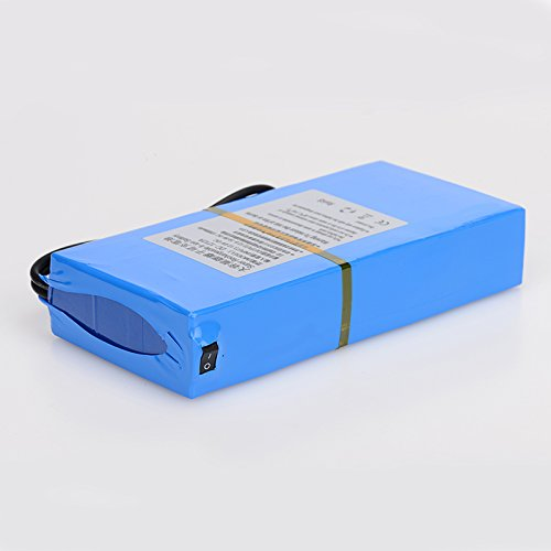 ABENIC DC 12V 12000mAh Rechargeable Protable Li-ion Lithium Battery DC1212A (BLUE)