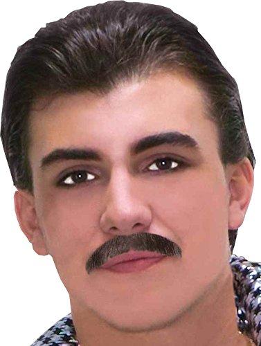 60s Moustache - Black (60s Halloween Makeup)