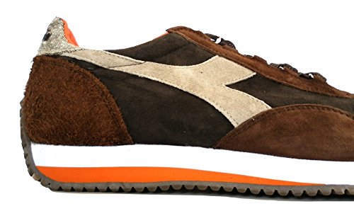 5 Heritage Equipe Marrone Brown Diadora EU Sneakers Evo Uomo 42 Suede II AwxdHq