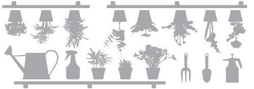 【30%OFF】 Crearreda Concepts CR-68001 [並行輸入品] Garden Window Decals by B018A1B04U Creative Leather Concepts [並行輸入品] B018A1B04U, ランジェリーショップナインハーフ:b1294789 --- ciadaterra.com
