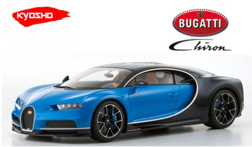 Bugatti Chiron Blue Limited to 350 pieces Worldwide 1/12 Model Car by Kyosho KSR08664BL