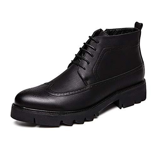 Noir 42 EU Dundun-bottes, 2018 Nouvelles Bottes à Venir, Bottines décontractées et Confortables pour Hommes de la Mode pour Hommes (Couleur   Noir, Taille   42 EU)
