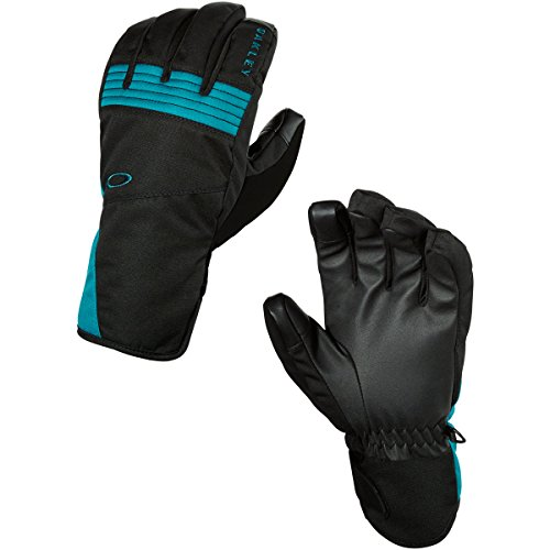 Oakley Men's Roundhouse Short Gloves, Jet Black, Small