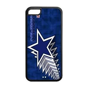 Custom Dallas Cowboys NFL Series Back Cover Case for iphone 5C JN5C-1145