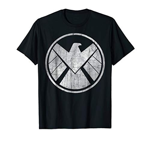Marvel Agents of S.H.I.E.L.D. Grungy Logo Vintage T-Shirt