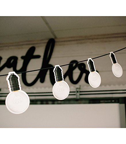 Schoolgirl Style Industrial Chic Light Bulbs Cut-Outs (120544) Photo #2