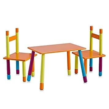 OFFERTA SPECIALE - Set di sedie e tavolo per bambini in MDF ...