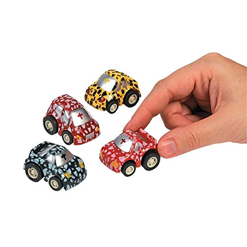 Cross Pullback Race Cars by Fun Express