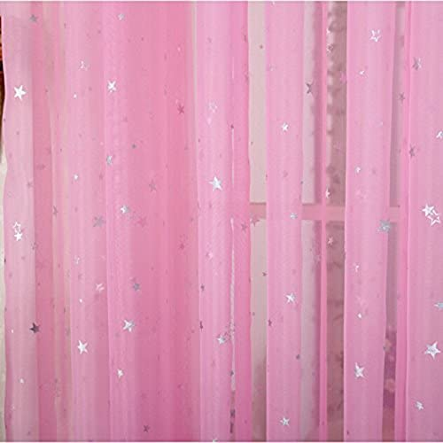picture of Kids Room Window Curtain Decoration Rod Pocket Process Multiple Sizes